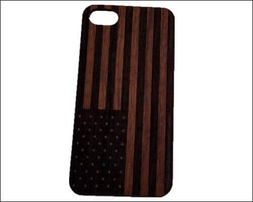 Szwisechip Wooden Case for iPhone 7