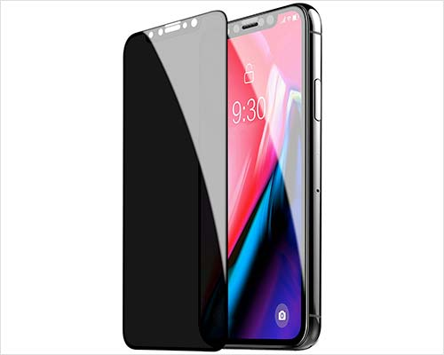 TECHO Privacy Screen Protector for iPhone Xs-X