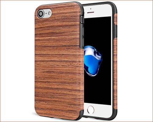 TENDLIN Wooden Case for iPhone 8