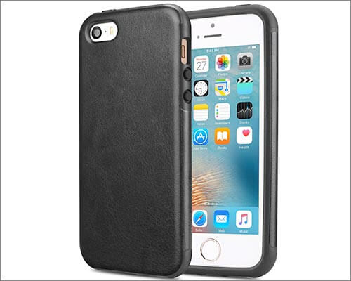 TENDLIN iPhone 5s and iPhone 5 Leather Case