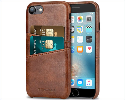 TENDLIN iPhone 7 Leather Case