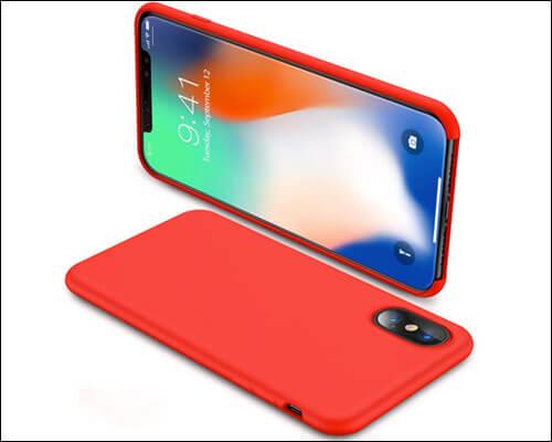 TORRAS Love Series iPhone X Red Case