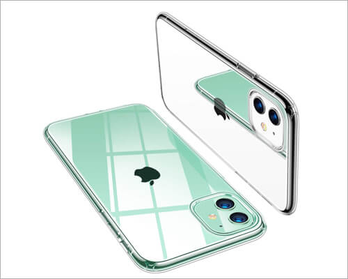 TORRAS iPhone 11 Crystal Clear Silicone Case