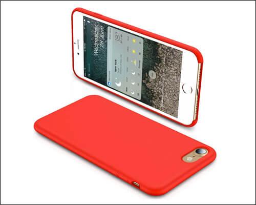 TORRAS iPhone 8 Red Case