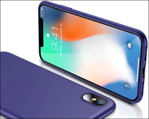TORRAS iPhone X Wireless Charging Support Case