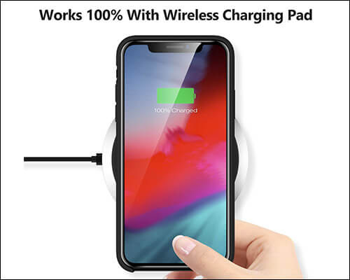 TORRAS iPhone Xs Max Wireless Charging Compatible Case