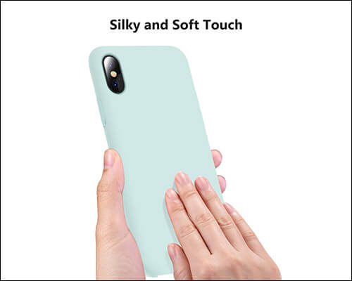 TORRAS iPhone Xs Silicone Case for Girls