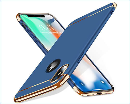 TORRAS iPhone Xs Wireless Charging Compatible Case