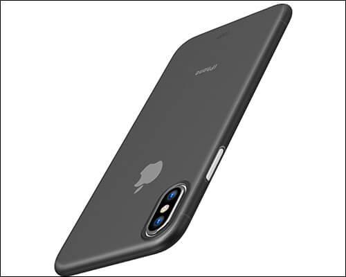 TOZO Slimmest iPhone X Case