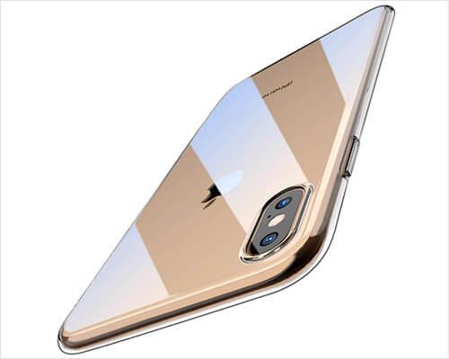 TOZO iPhone XS Max Transparent Case