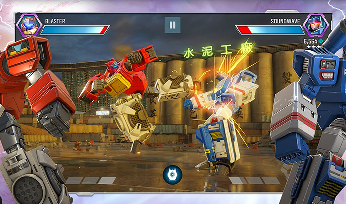 TRANSFORMERS iPhone and iPad Game Screenshot