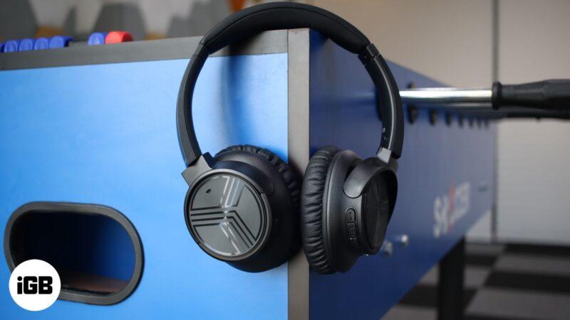 TREBLAB Noise Cancelling Wireless Headphones and Earphones