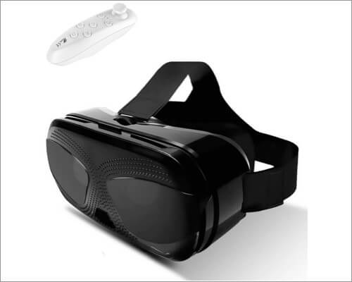 TSANGLIGHT Virtual Reality Headset with Controller for iPhone SE 2020
