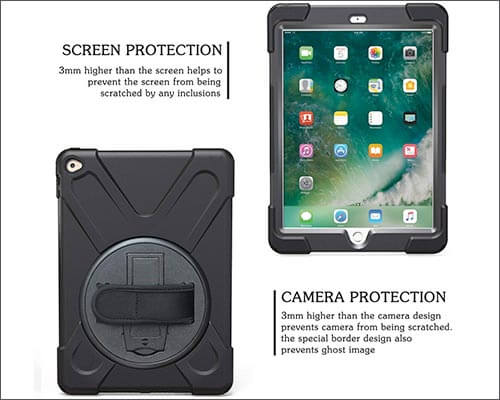 TSQ iPad Air 2 Military Grade Case