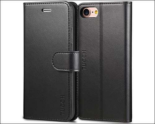 TUCCH iPhone 8 Folio Case