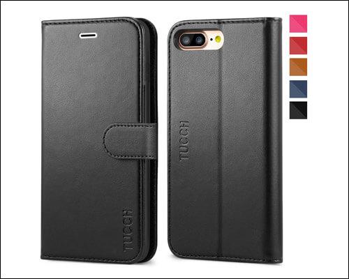TUCCH iPhone 8 Plus Folio Case