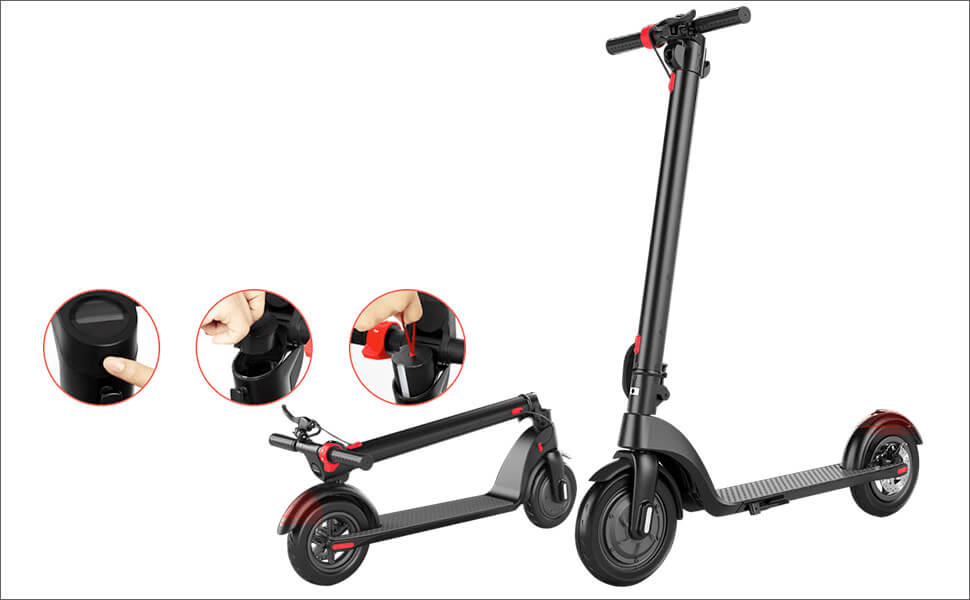 TURBOANT X7 Folding and Portable Electric Scooter