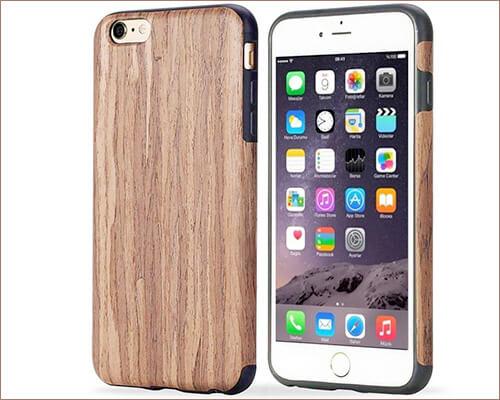 TabPow iPhone 6-6s Wooden Case