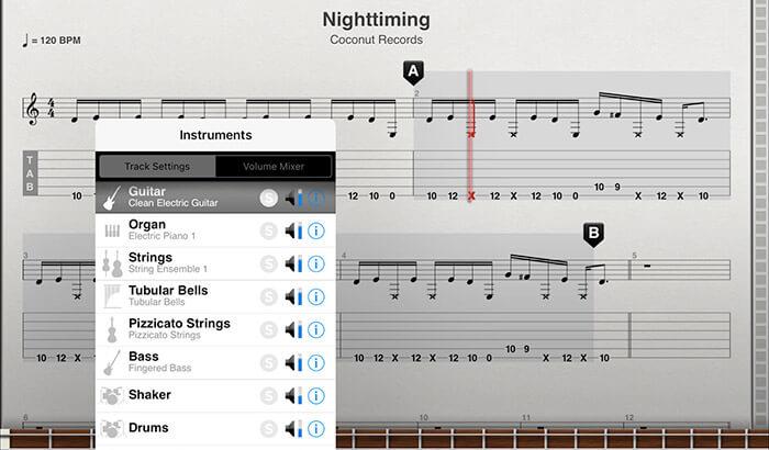 TabToolkit iPhone and iPad App Screenshot