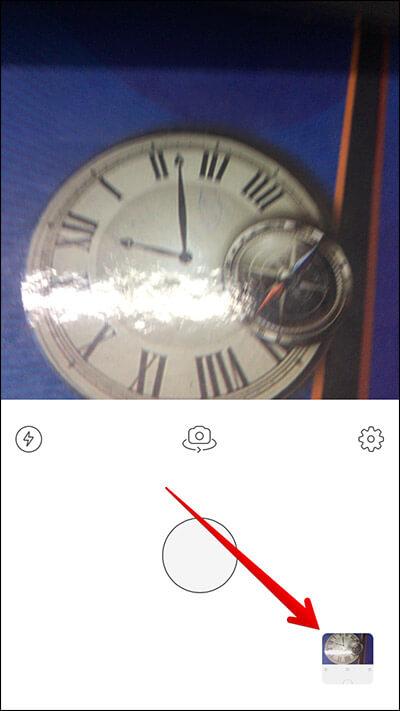 Tap on Photo Window in Prisma iPhone App