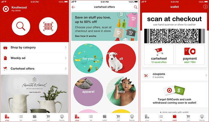 Target iPhone App Screenshot