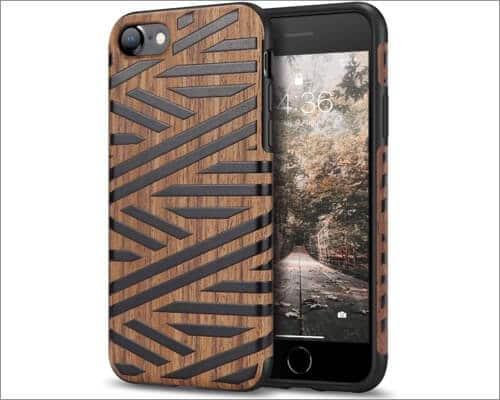 Tasikar iPhone SE 2020 Wooden Case