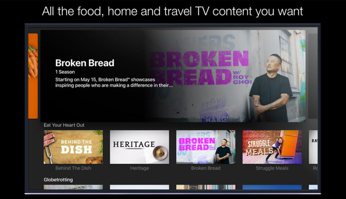 Tastemade Apple TV Cooking App Screenshot