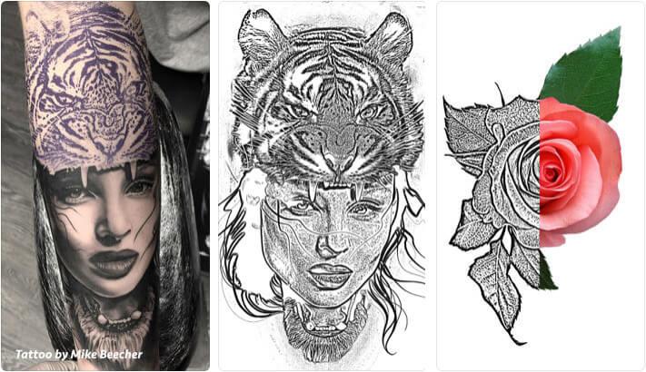 Tattoo Stencil iPhone and iPad App Screenshot