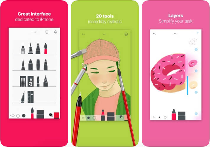 Tayasui Sketch iMessage Game App Screenshot