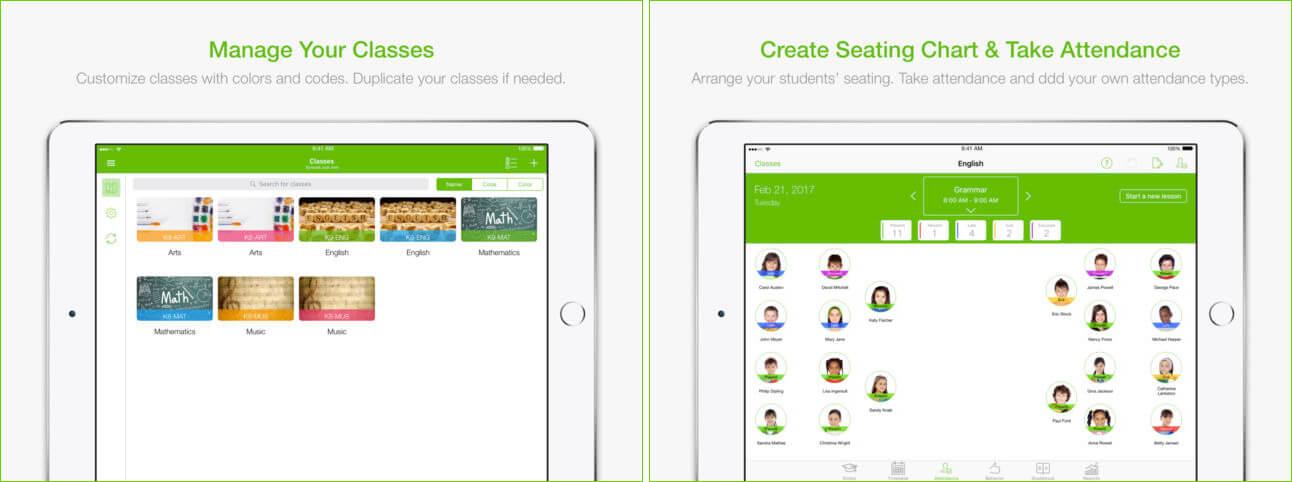 TeacherKit iPhone and iPad Teachers App Screenshot