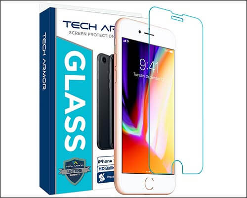 Tech Armor Apple iPhone 8 Plus Glass Screen Protector