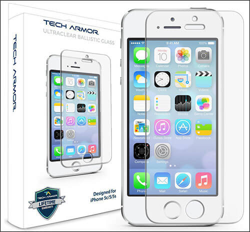 Tech Armor Glass Screen Protector for iPhone SE