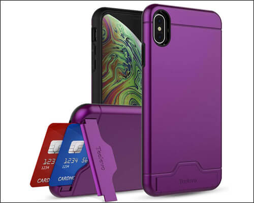 Teelevo iPhone Xs Max Card Case