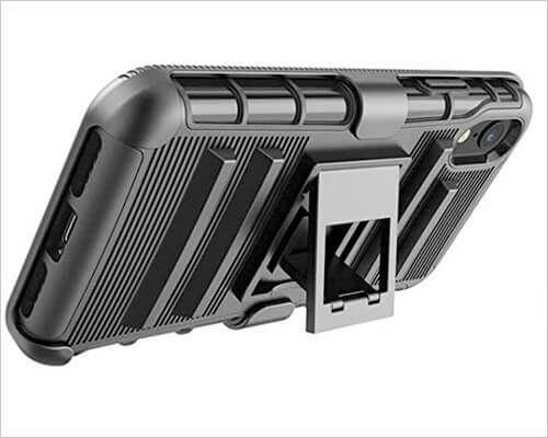 Tekcoo iPhone XR Kickstand Case