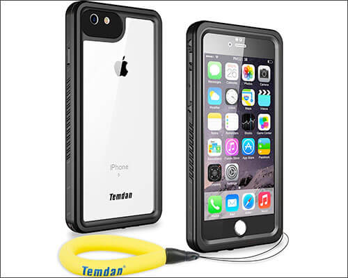 Temdan Waterproof Case for iPhone 6-6s Plus