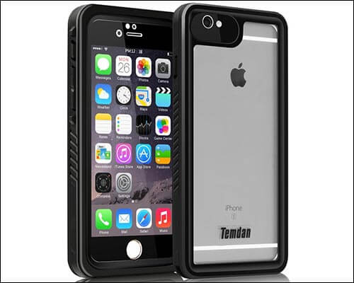 Temdan Waterproof Case for iPhone 6s Plus