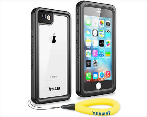 Temdan Waterproof Case for iPhone 8