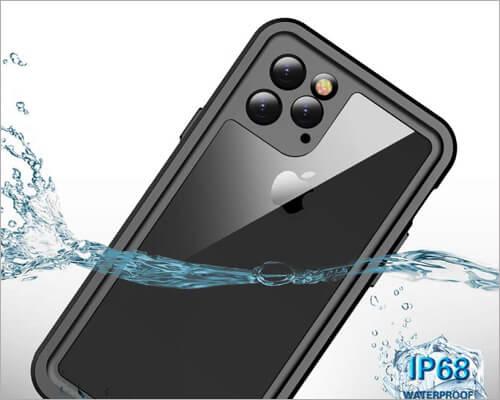 Temdan Waterproof iPhone 11 Pro Case