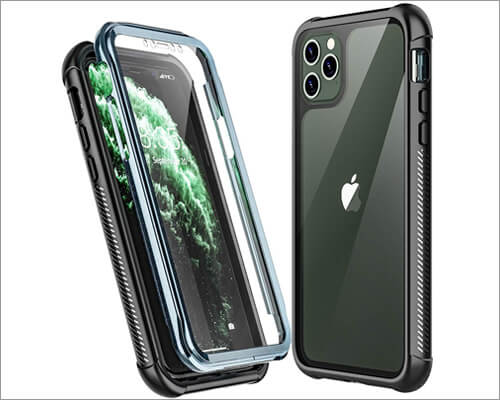 Temdan iPhone 11 Pro Protective Case Compatible with Wireless Chargning