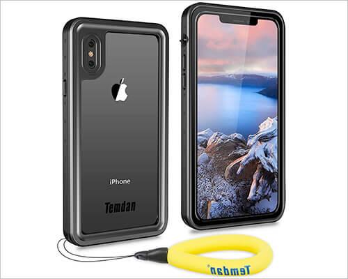 Temdan iPhone X-Xs Waterproof Case