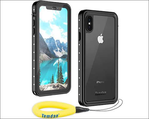 Temdan iPhone Xs Max Waterproof Case
