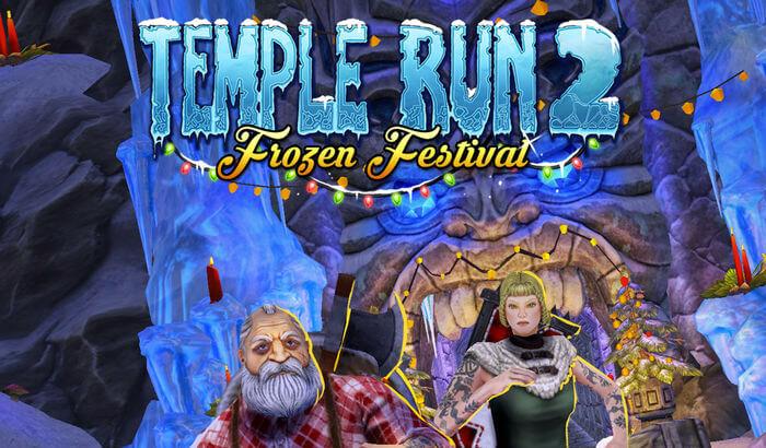 Temple Run 2 Endless Runner iPhone and iPad Game Screenshot