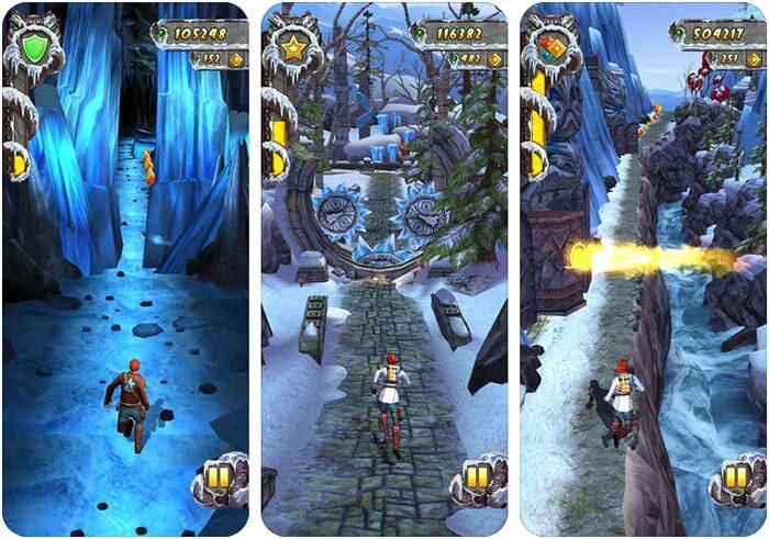Temple Run 2 iPhone and iPad Game Screenshot