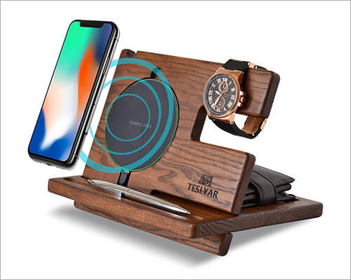Teslyar Docking Station for iPhone 11 Pro Max