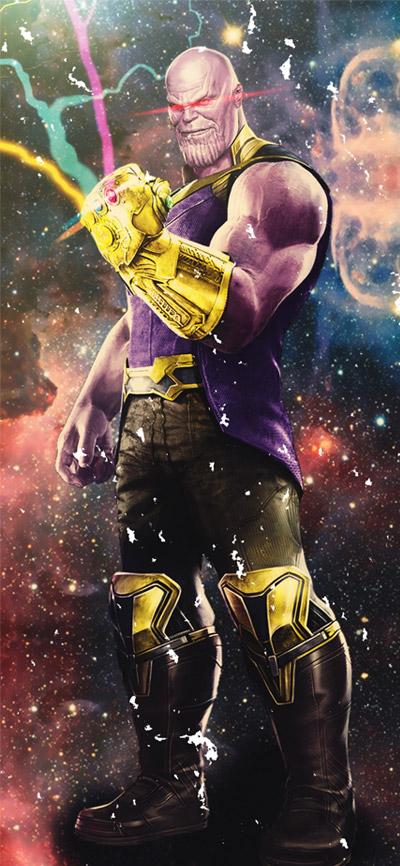 Thanos Arts iPhone Wallpaper