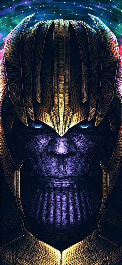 Thanos Artworks iPhone Wallpaper