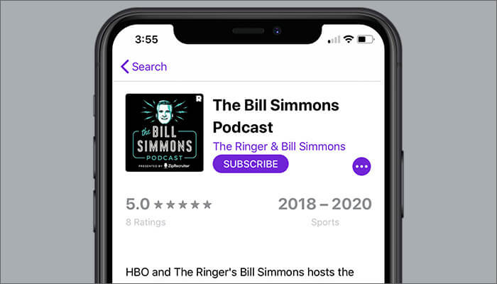 The Bill Simmons Podcast to Listen in Podcasts App on iPhone