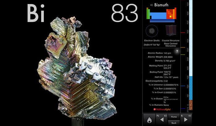 The Elements by Theodore Gray iPhone and iPad App Screenshot