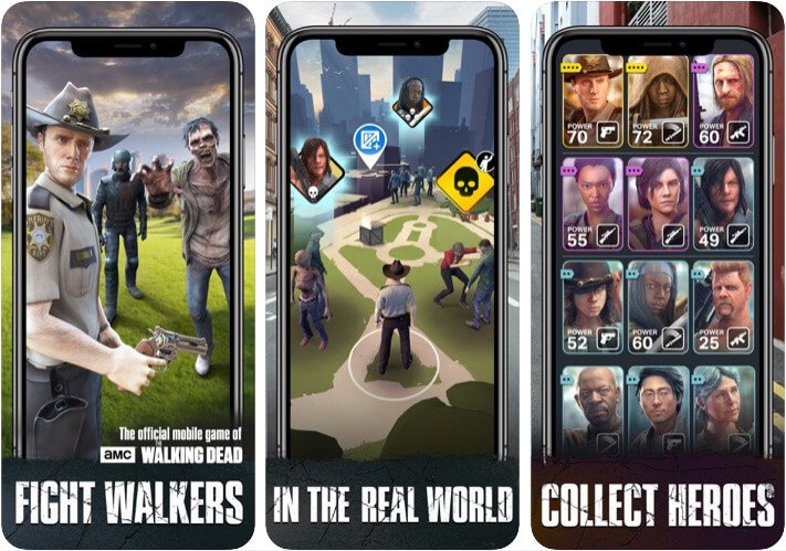 The Walking Dead Our World iPhone and iPad Game Screenshot