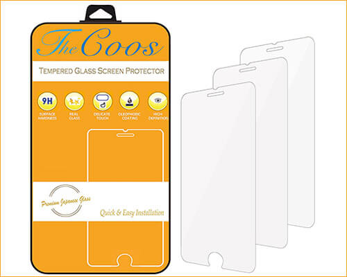TheCoos iPhone 7 Tempered Glass Screen Protector